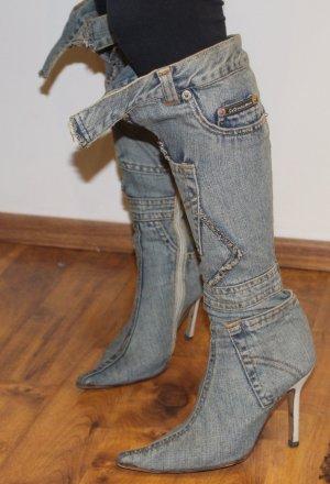 DOLCE & GABBANA Jeans STIEFEL sexy heiß Gr. 36,5