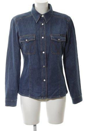 Dolce & Gabbana Camisa vaquera azul Algodón