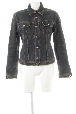 Dolce & Gabbana Denim Jacket dark grey casual look