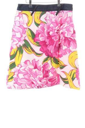Dolce & Gabbana Jeansrock Blumenmuster Casual-Look