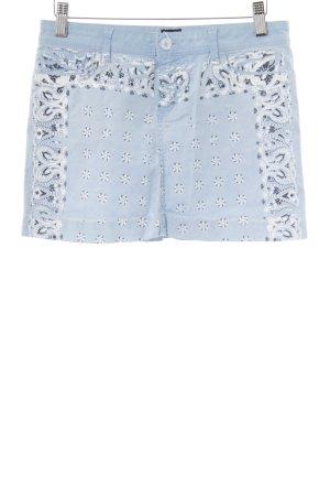Dolce & Gabbana Jeansrock Ornamentenmuster Casual-Look