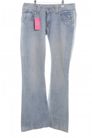 Dolce & Gabbana Jeans a zampa d'elefante blu stile casual