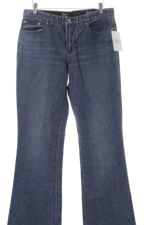 Dolce & Gabbana Jeansschlaghose blassblau Jeans-Optik
