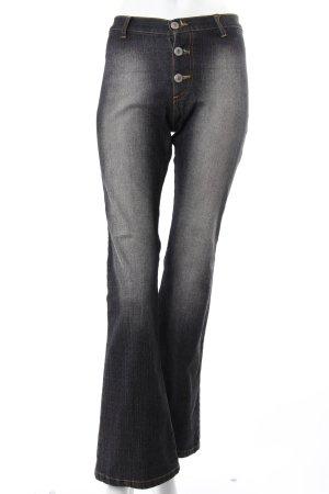 Dolce & Gabbana Jeansschlaghose graublau