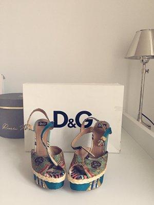 Dolce & Gabbana Keilpumps! D & G Schuhe 36!