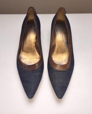 Dolce & Gabbana Bailarinas marrón-azul oscuro