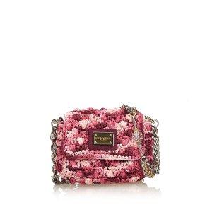 Dolce & Gabbana Borsa a spalla rosa pallido