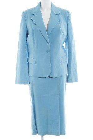 Dolce & Gabbana Damespak neon blauw casual uitstraling