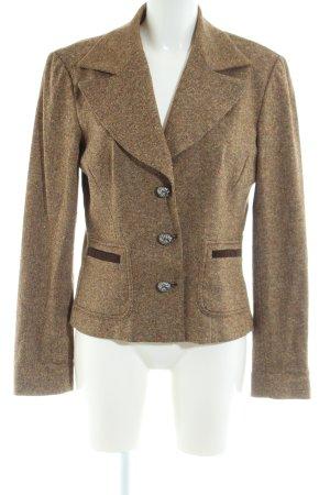 Dolce & Gabbana Kurz-Blazer bronzefarben meliert Business-Look
