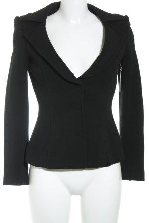 Dolce & Gabbana Kurz-Blazer schwarz Casual-Look