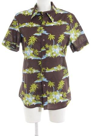 Dolce & Gabbana Short Sleeved Blouse allover print beach look