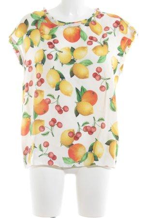 Dolce & Gabbana Short Sleeved Blouse allover print elegant