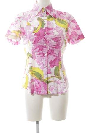 Dolce & Gabbana Kurzarm-Bluse Blumenmuster Casual-Look