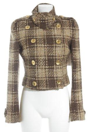 Dolce & Gabbana Kurzmantel Karomuster Brit-Look