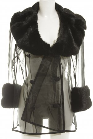 Dolce & Gabbana Kurzmantel schwarz Elegant