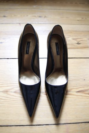Dolce Gabbana Lack High Heels 38,5 sehr guter Zustand