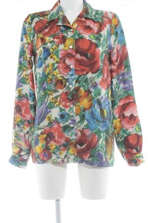Dolce & Gabbana Langarm-Bluse florales Muster extravaganter Stil