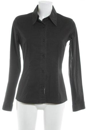 Dolce & Gabbana Langarmhemd schwarz Casual-Look