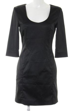Dolce & Gabbana Langarmkleid schwarz Elegant