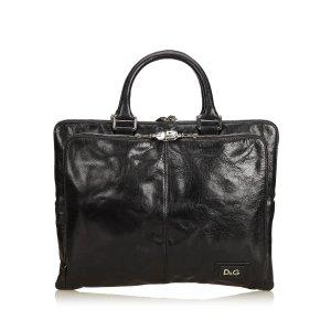 Dolce & Gabbana borsa ventiquattrore nero Pelle
