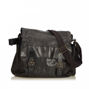 Dolce & Gabbana Crossbody bag black leather