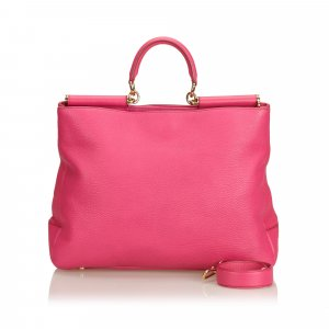 Dolce & Gabbana Satchel pink leather