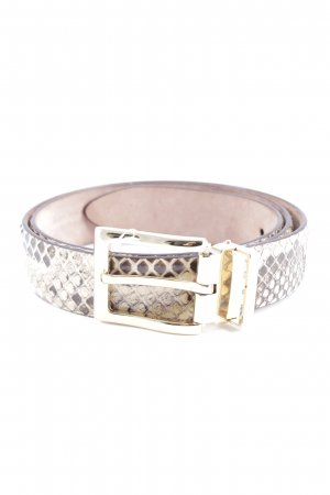 Dolce & Gabbana Leather Belt animal pattern elegant
