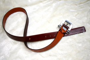 Dolce & Gabbana Leather Belt brown