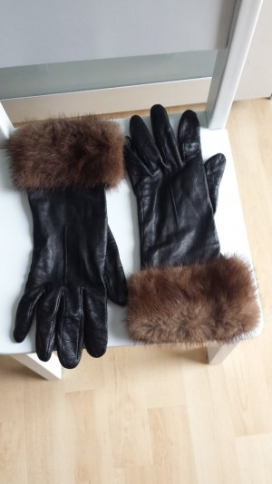 Dolce & Gabbana Leather Gloves multicolored leather