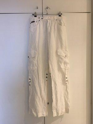 Dolce & Gabbana Pantalón de lino multicolor