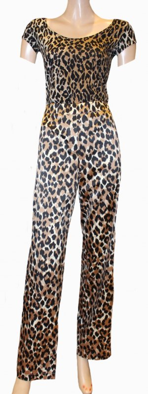 Dolce & Gabbana Stretch Trousers brown-black polyester