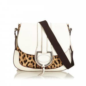 Dolce & Gabbana Crossbody bag white leather