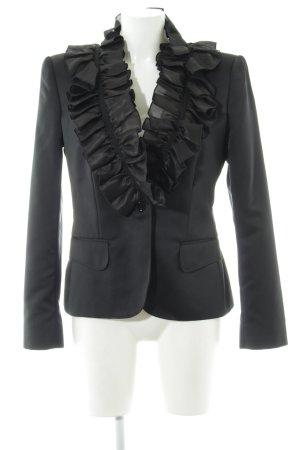 Dolce & Gabbana Long-Blazer schwarz Business-Look