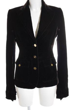 Dolce & Gabbana Long-Blazer schwarz Elegant