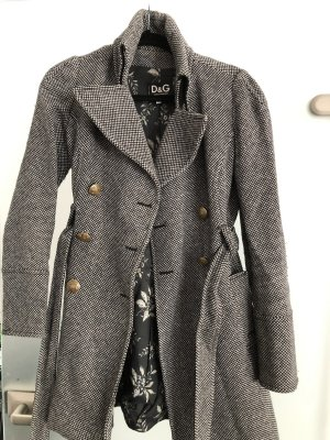 Dolce & Gabbana Between-Seasons-Coat black-grey