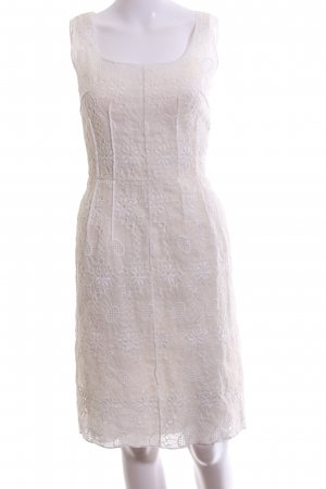 Dolce & Gabbana Midi Dress natural white casual look