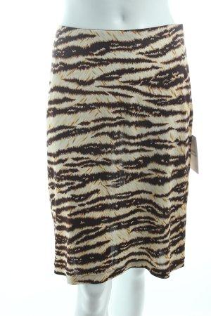 Dolce & Gabbana Midirock Mustermix Animal-Look