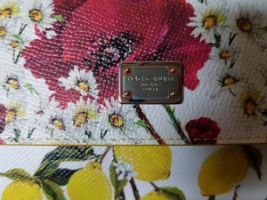 Dolce & Gabbana Mini sac multicolore cuir
