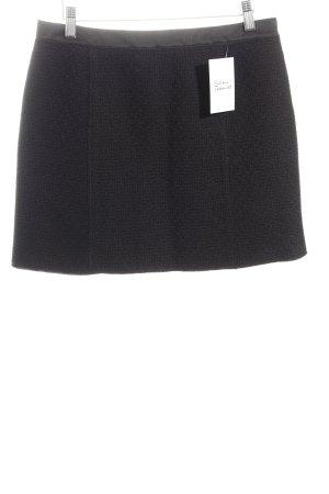 Dolce & Gabbana Minirock schwarz Struktur-Optik