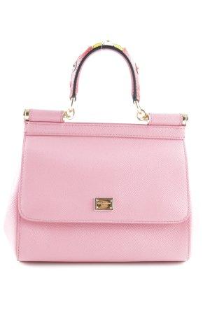 "Dolce & Gabbana Minitasche ""Sicily Mini St. Dauphine Rosa Intenso"""