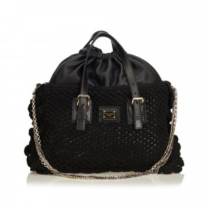 Dolce & Gabbana Tote black cotton