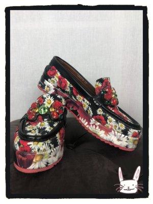 Dolce & Gabbana Mocassino multicolore Pelle