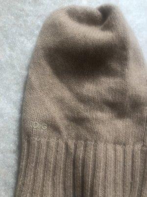 Dolce & Gabbana Knitted Hat beige cashmere
