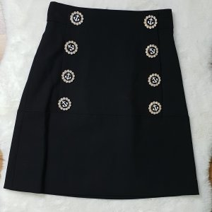 Dolce Gabbana nautical button skirt