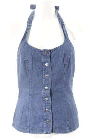 Dolce & Gabbana Halter Top blue jeans look
