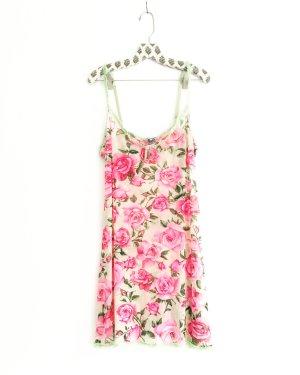 dolce & gabbana negligé / kleid / nightwear / underwear / boho / hippie / flowers / roses