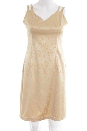 Dolce & Gabbana Negligee goldfarben Blumenmuster Elegant