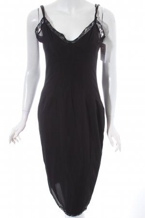 Dolce & Gabbana Négligé noir style romantique