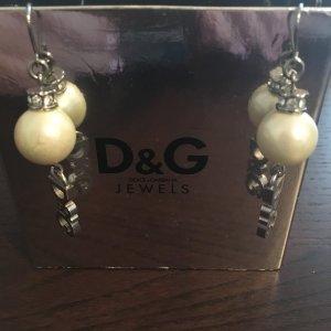 #Dolce &Gabbana##Ohrringe#Perlen#weiss#Hochzeit#stylisch#jetzt reduziert #