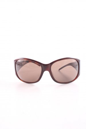 Dolce & Gabbana Oval Sunglasses red-brown casual look